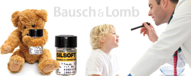 Bausch & Lomb Silsoft® Pediatrik Lens