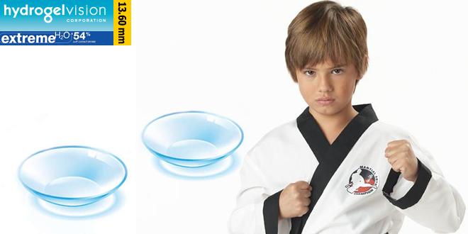 Kontakt lens kullanan çocuk kendine güveniyor!