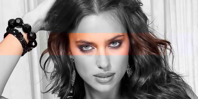 Irina Shayk'ın Gözleri Lens Mi?