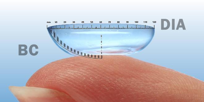 Lens DIA ve BC Anlamı Nedir?