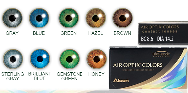 Air Optix Colors Renkli Lensleri